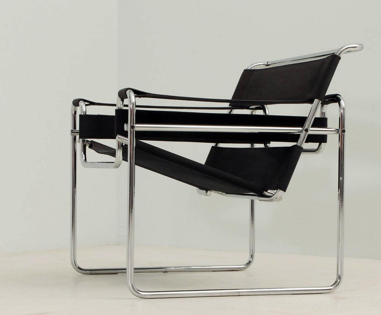 la silla que se inspir en una bicicleta b3 la silla wassily vilanova pe a. Black Bedroom Furniture Sets. Home Design Ideas