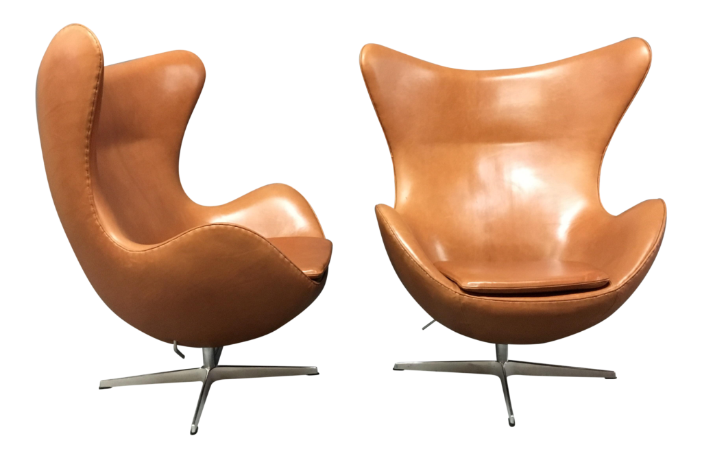 Arne Jacobsen, silla Huevo (egg chair)